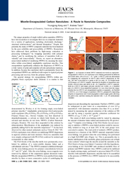 MicelleEncapsulated Carbon Nanotubes A Route to Nanotu