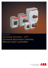 Enclosed switches  eOT Enclosed disconnect switches Ma