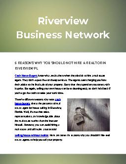 5 Reasons Why You Should Not Hire A Realtor In Riverview Fl