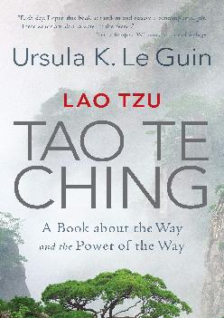 READ  Lao Tzu Tao Te Ching A Book about the Way and