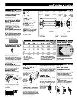 750W max  120V 800W max  220240VTota and Vlight lamps are not