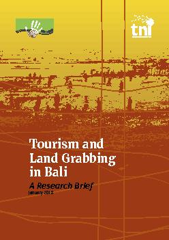 Tourism and