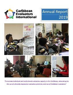 To increase individual and institutional evaluation capacity in th