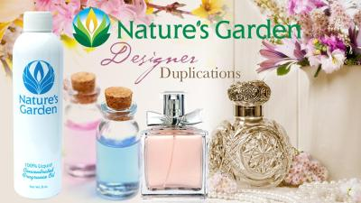 COMPARE NATURES GARDEN FRAGRANCE TO