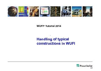 constructions in WUFI