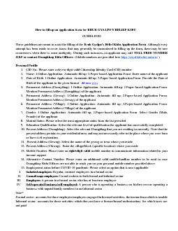 How to fill up an application form for DRUK GYALPOS RELIEF KIDU