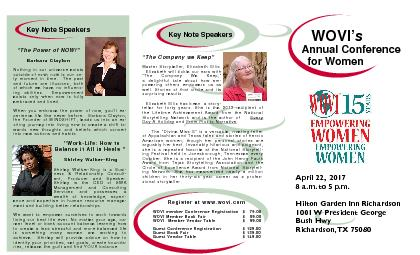 WOVIs  Annual Conference    for Women