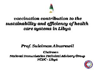 vaccination contribution to the