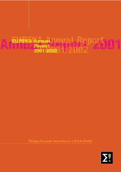 Annual Report  EUREKA Annual Report  EUREKA Annual Rep PowerPoint PPT Presentation