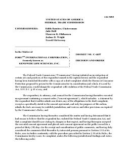 UNITED STATES OF AMERICAFEDERAL TRADE COMMISSIONCOMMISSIONERSEdith Ra