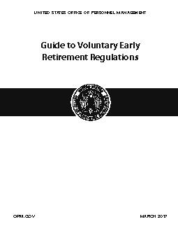 Guide to Voluntary EarlyRetirement Regulations