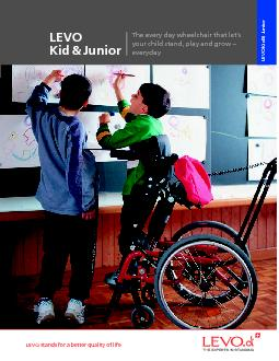 LEVO Kid  JuniorKidJuniorThe every day wheelchair that let146syou