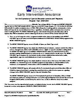 x0000x0000Program Year 20202021Early Intervention Special Educat