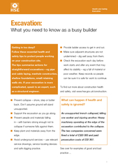 Excavation What you need to know as a busy builder Hea