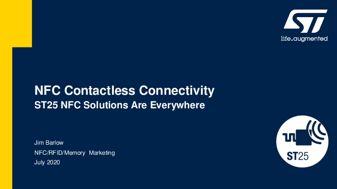 NFC Contactless Connectivity