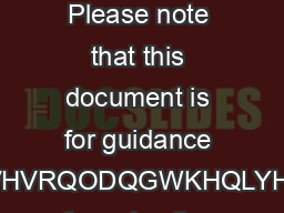 MITIGATING CIRCUMSTANCES POLICY GUIDELINES FOR STUDENTS AND STAFF  Please note that this document is for guidance SXUSRVHVRQODQGWKHQLYHUVLWV formal policy arrangements and procedures are contained in