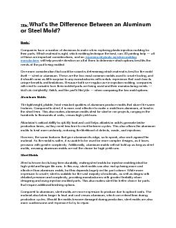 What\'s the Difference Between an Aluminum or Steel Mold?