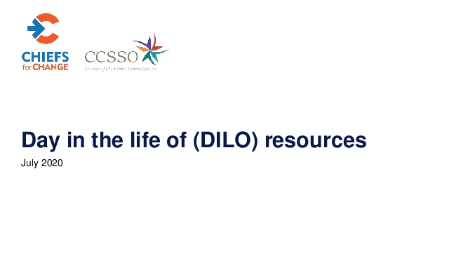 Day in the life of DILO resources