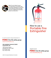 How to use a Por table Fire Extinguisher Brought to yo