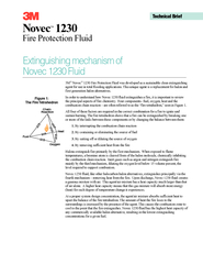 Novec  Fire Protection Fluid M Novec  Fire Protection
