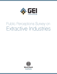 Public Perceptions Survey on Extractive Industries  su