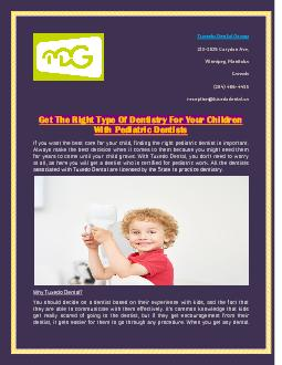 Get The Right Type Of Dentistry For Your Children With Pediatric Dentists