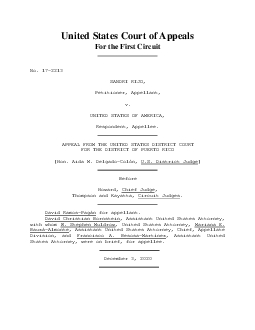 United States Court of Appeals For the First Circuit     SANDRI RIJO P
