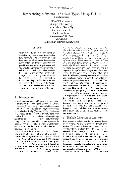 a System of Lexical Types Using Default Unification Villavicencio Comp