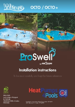 INSTALLATION INSTRUCTIONS proswellfrWhen resinous wood species are aut
