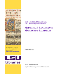 Guide to Published Materials in the LSU Libraries Spec