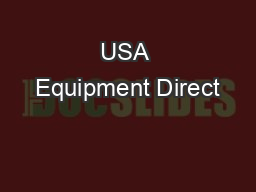 USA Equipment Direct