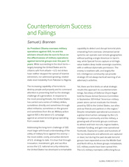 Counterterrorism success and failings