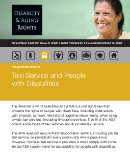 protects the rights of people with disabilities including older adults