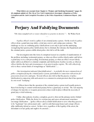 What follows are excerpts from Chapter  Perjury and Fa PowerPoint PPT Presentation