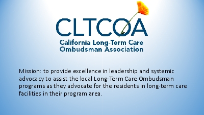 Mission to provide excellence in leadership and systemic advocacy to a