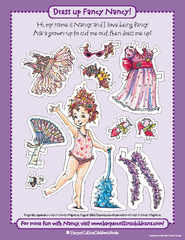 Dress up Fancy Nancy For more fun with Nancy visit www