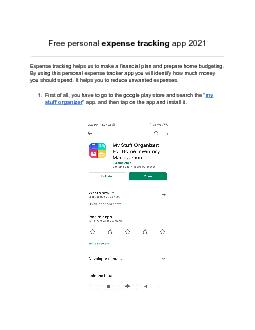 Free personal expense tracking app 2021