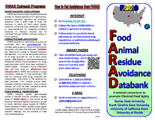 FARAD is supported by the United States Department of