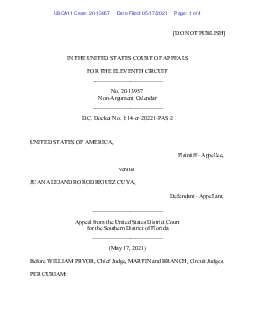 DO NOT PUBLISHIN THE UNITED STATES COURT OF APPEALSFOR THE ELEVENTH CI