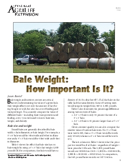 ale weight and nutrient content are critical