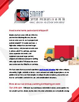 Budget Friendly Furniture Shipping Service