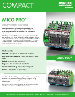 Power ModuleArticle NumberMico Pro PM 24V DC40APower Module 24V DC ma