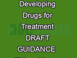 Guidance for Industry Complicated Intra Abdominal Infections Developing Drugs for Treatment DRAFT GUIDANCE  This guidance document is being di stributed for comment purposes only