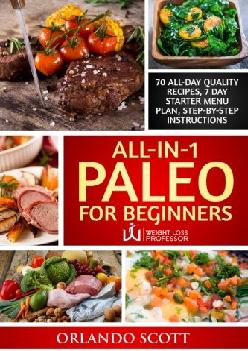 [EBOOK] All In 1 Paleo For Beginners