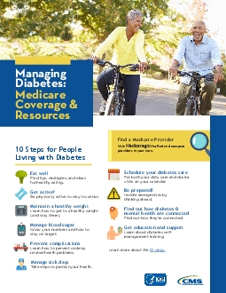 10 Steps for People Living with DiabetesFind tips strategies and ideas