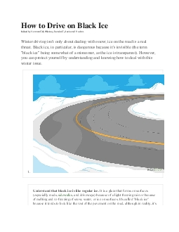How to Drive on Black Ice