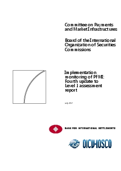 Committee on Paymentand Market Infrastructures
