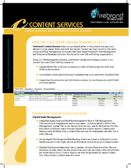CREATE MANAGE AND DISTRIBUTE DIGITAL CONTENT Firebrand