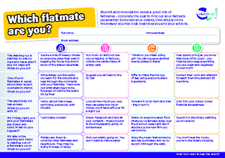 Which flatmate are you