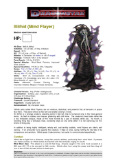 D&D is a trademark of Wizards of the Coast and Dragonstar is a trademark of Fantasy Flight Games and are used here without permission.   ...